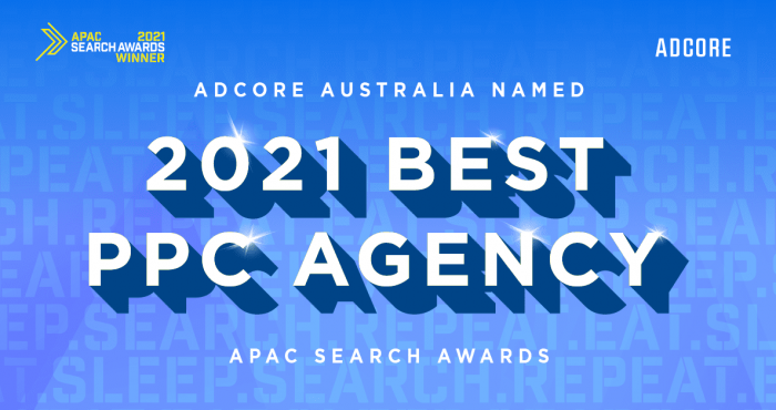 Adcore Australia Named Best PPC Agency in APAC